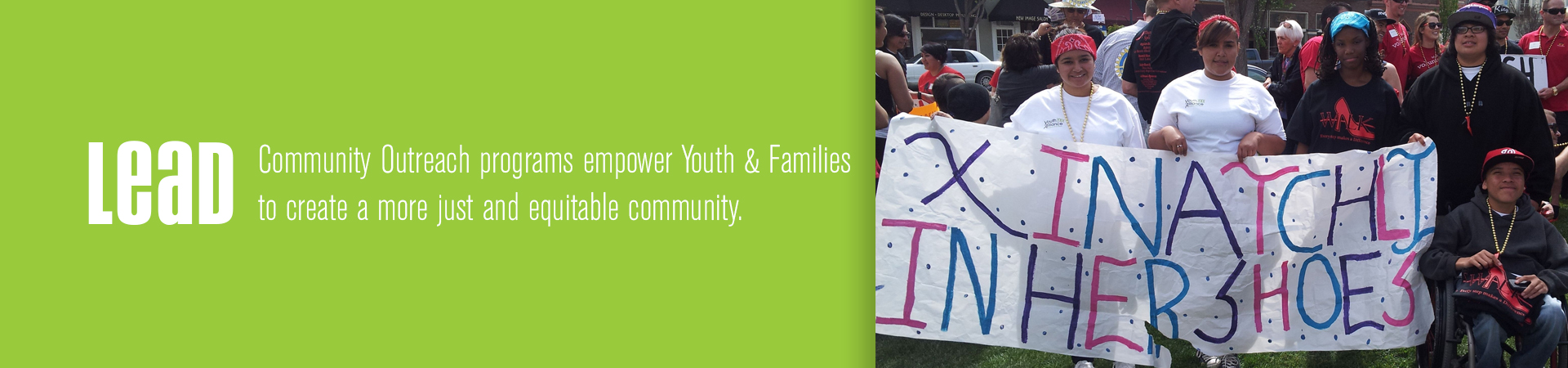 youth alliance leads through community outreach