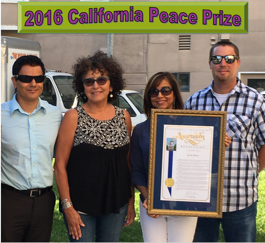California Peace Award 2016