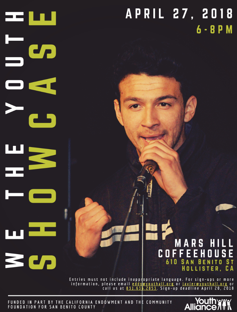 We The Youth Showcase | Friday, April 27 | 6-8pm | Mars Hill