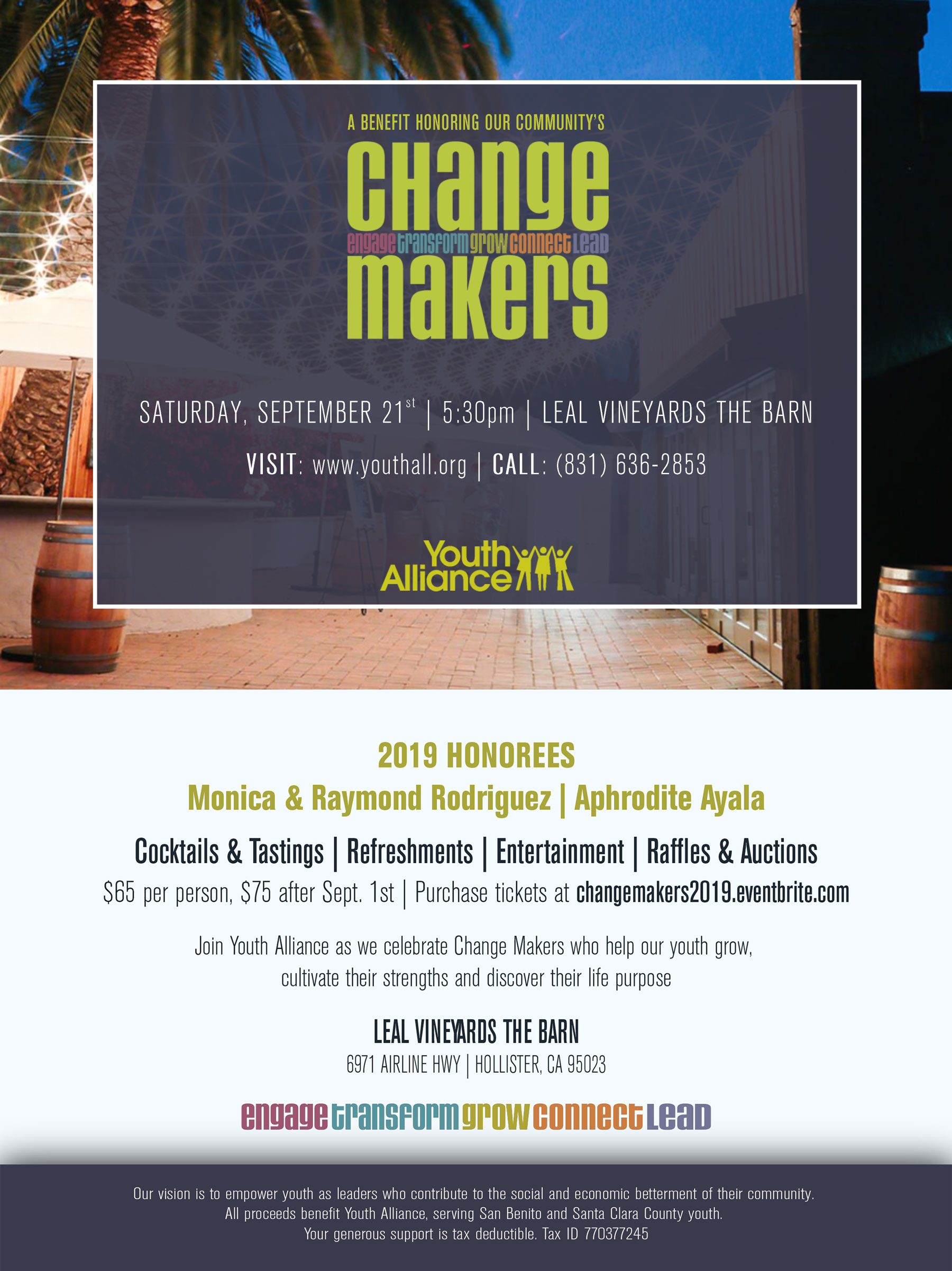 Change Makers 2019 event