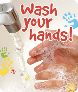 Please wash your hands frequently.